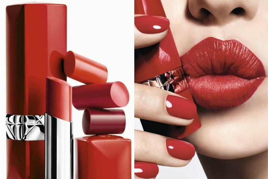 Dior全新Ultra Rouge红管半哑光唇膏,必买色号请笔记!