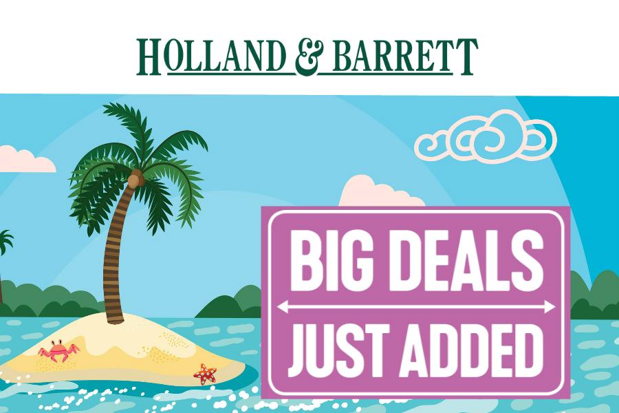 Holland&Barrett独家满减折扣最多可减£40!还可以叠加Penny Sale活动商品!