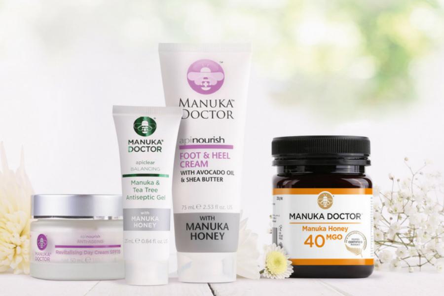 Manuka Doctor马努卡蜂蜜闪促,多种养胃蜂蜜和天然护肤品通通低至3折!