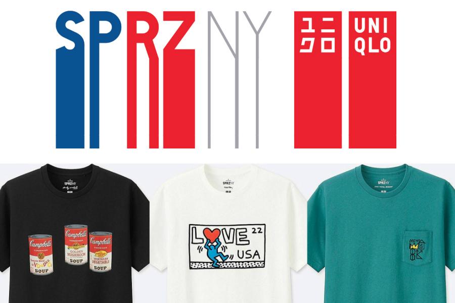 UNIQLO推出SPRZ BIG 3系列,把融合波普和涂鸦的艺术T恤穿起来!
