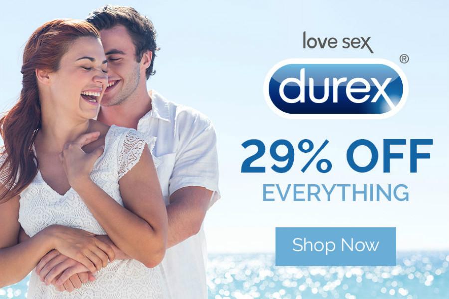 Durex杜蕾斯 | 红领巾独家全场29%OFF,打折商品还有折上折!