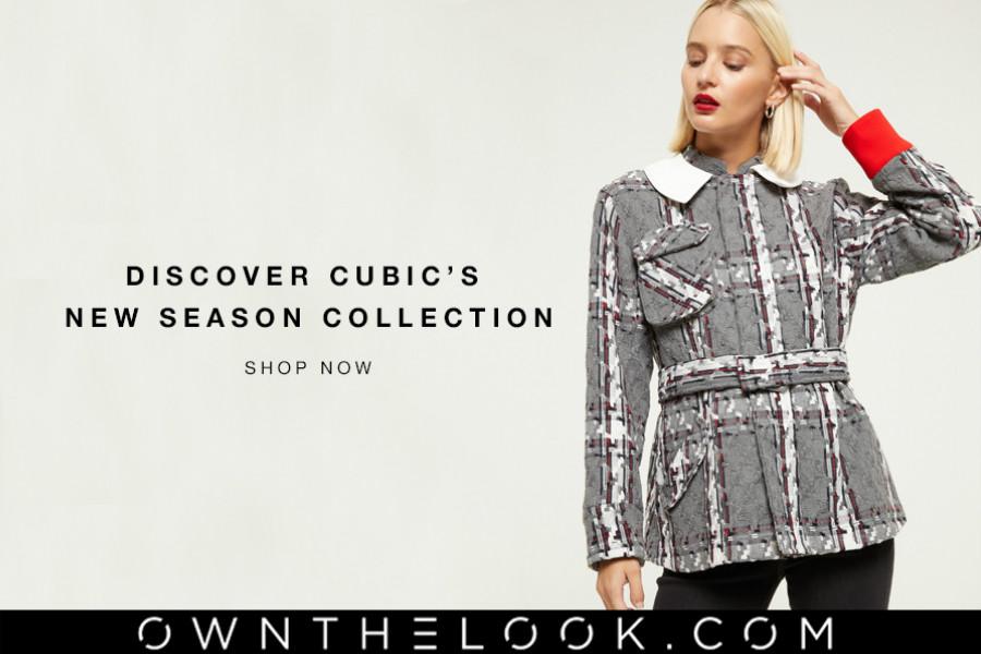 Own The Look新季上市!小众设计师品牌Cubic了解一下!开学季秋冬look时髦不撞衫!