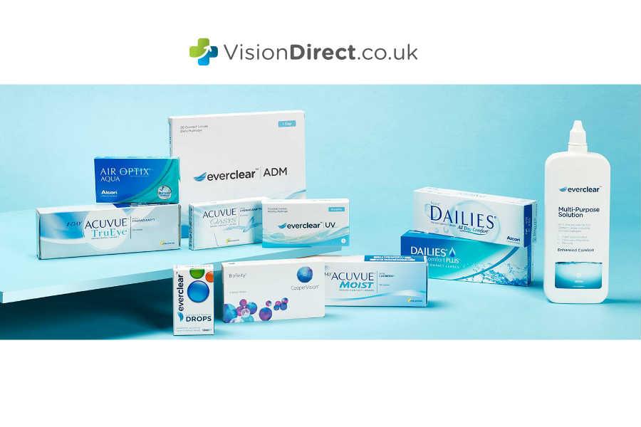 Vision Direct隐形眼镜折扣中!高达6折!