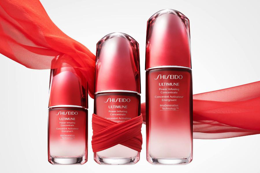 Shiseido   经典红腰子精华等明星产品折上额外18%OFF折扣中