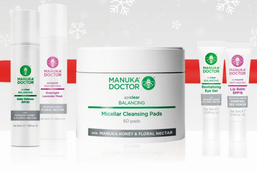 Manuka Doctor麦卢卡蜂蜜和天然护肤品折扣中,天然卸妆棉片3折!