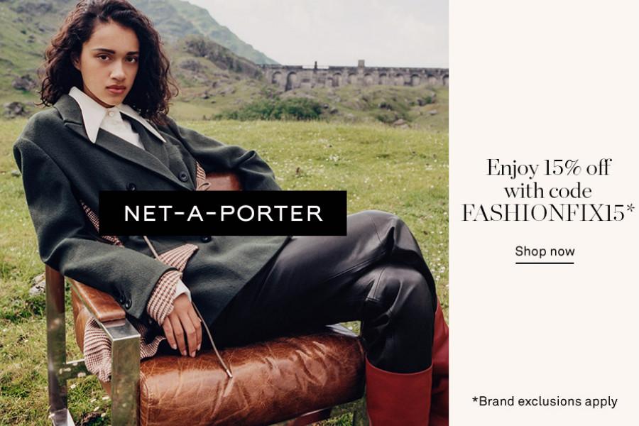最后一天!NET-A-PORTER颇特女士大牌新品全场15%OFF!