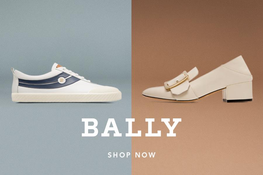Bally折扣活动全场15%OFF来啦,复刻版Super Smash球鞋&经典款平底鞋同时在线!