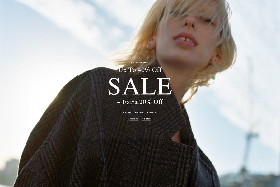 AllSaints折扣高达40%OFF+额外20%OFF现在开始!入手经典又时髦的过秋帅气皮衣啦!