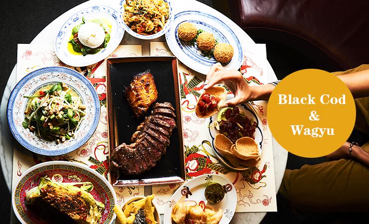Black Cod & Wagyu | 20镑能吃到和牛的伦敦快闪餐厅