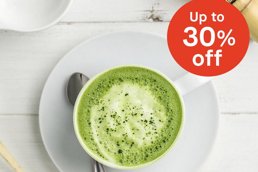 Japan Centre精选茶品线上高达30%OFF,抹茶爱好者来!