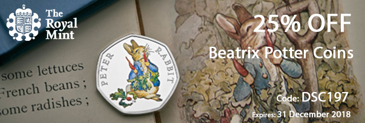 彼得兔纪念币折扣