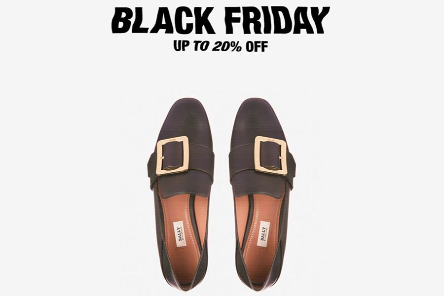 Bally黑五20%OFF今日结束,复刻版Super Smash球鞋&经典款平底鞋同时在线!