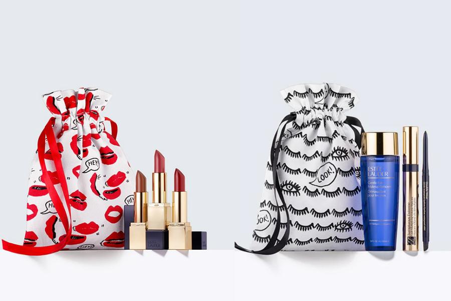 Estee Lauder雅诗兰黛套装限时半价,口红三件套和明星眼妆组别错过!