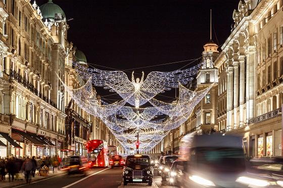 摄政街圣诞点灯