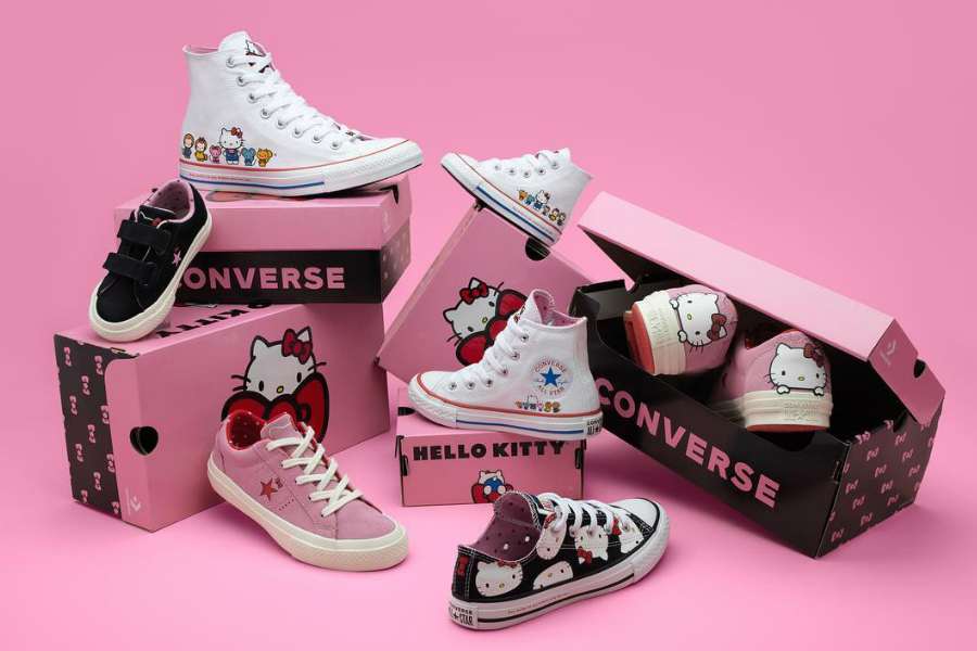 Converse x Hello Kitty | 限量联名系列上市,正中少女心!