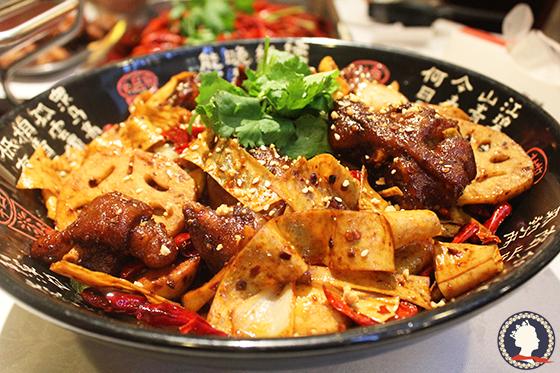 风味食堂香锅猪手