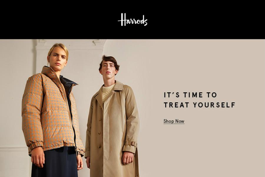Harrods新年折扣开始,美妆,包包,女装,家居高达50%OFF!