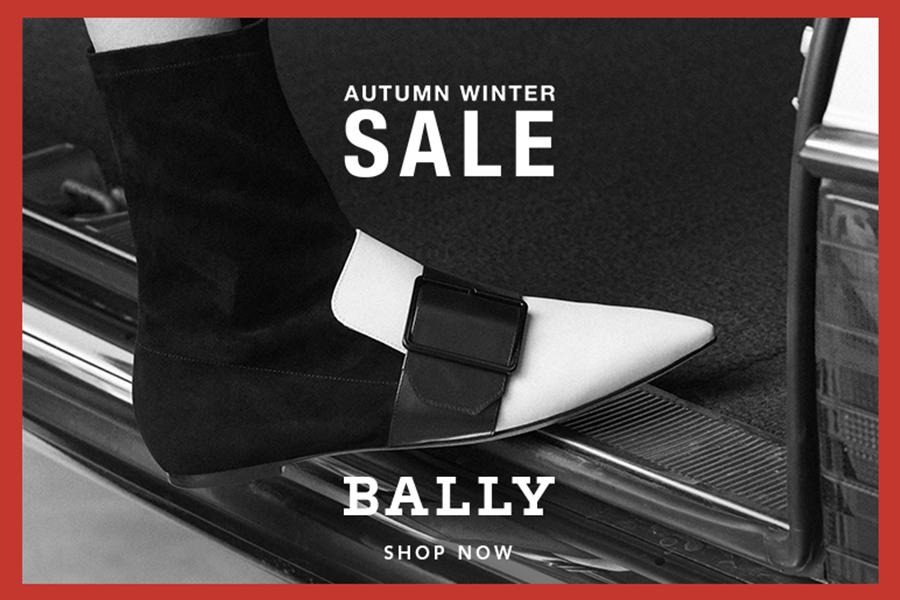 Bally男女18年秋冬新款高达50%OFF,复刻版球鞋&经典款平底鞋同时在线!