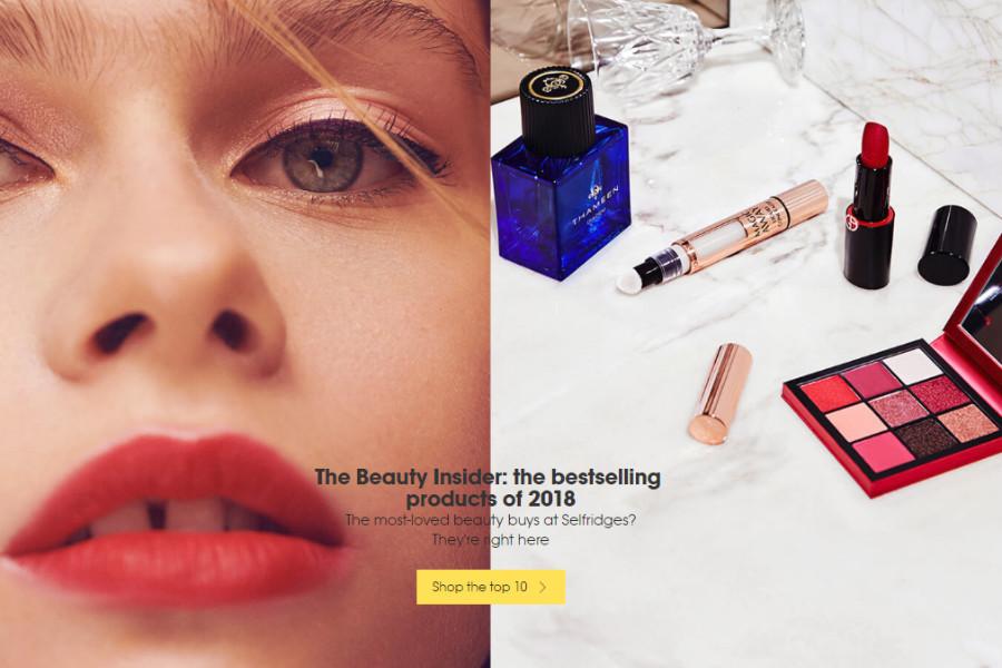 Selfridges年度最棒彩妆护肤出炉,最棒TOP10好评单品来入!