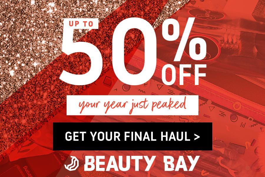 Beauty Bay英国美妆电商年末大促高达50%OFF!超可爱美妆品可以入!