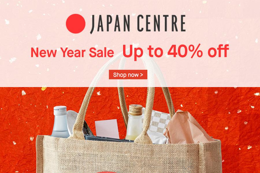 Japan Centre超过百种日本食品6折起,好吃的日本泡面、清酒、KitKat等都有!