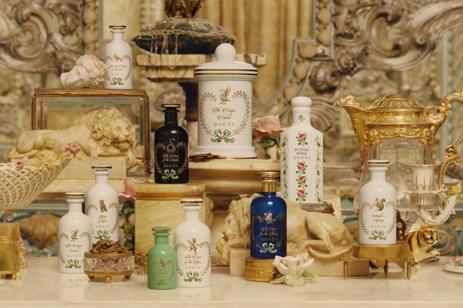 Gucci香水新系列The Alchemist's Garden出炉,华丽丽的复古宫廷风疯狂种草!