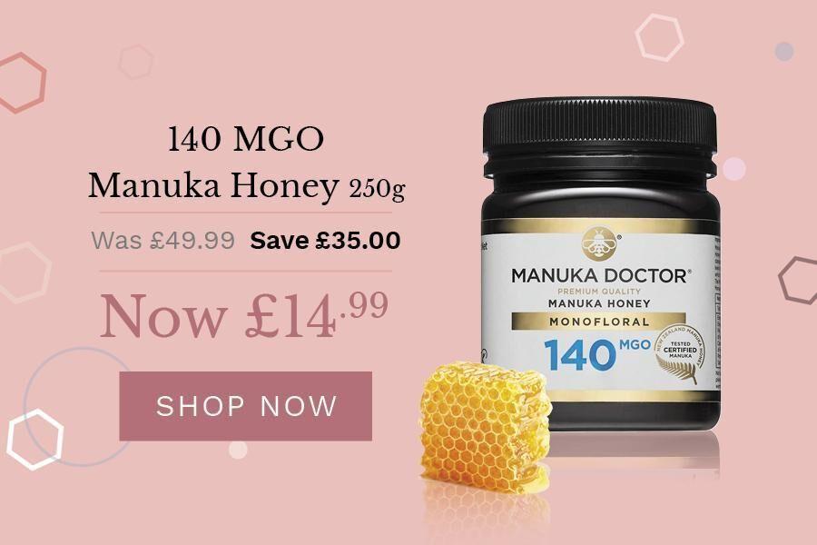 Manuka Doctor | 麦卢卡蜂蜜闪销,最多可省£45!