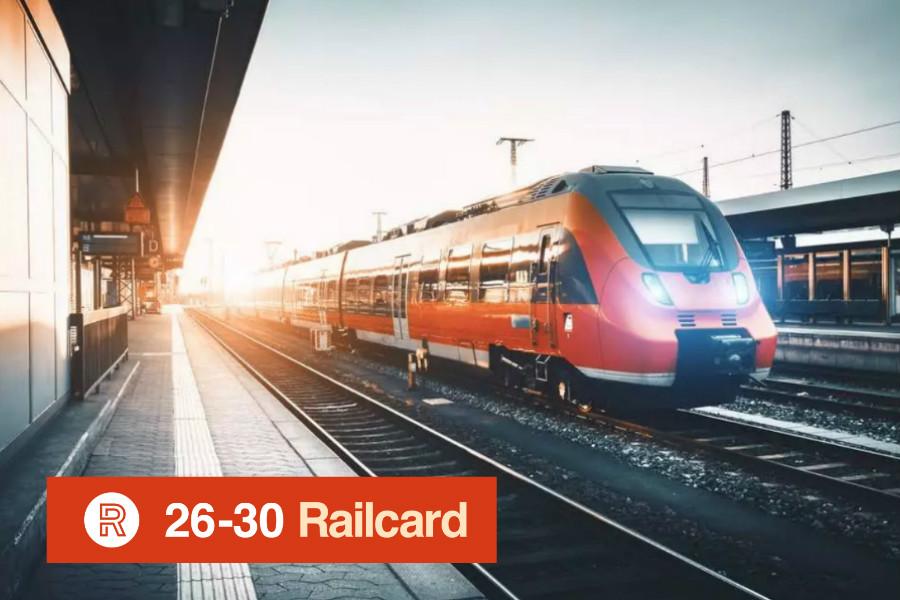 26-30 Railcard正式发售,每年轻松省下125镑!来get英国省钱神器!