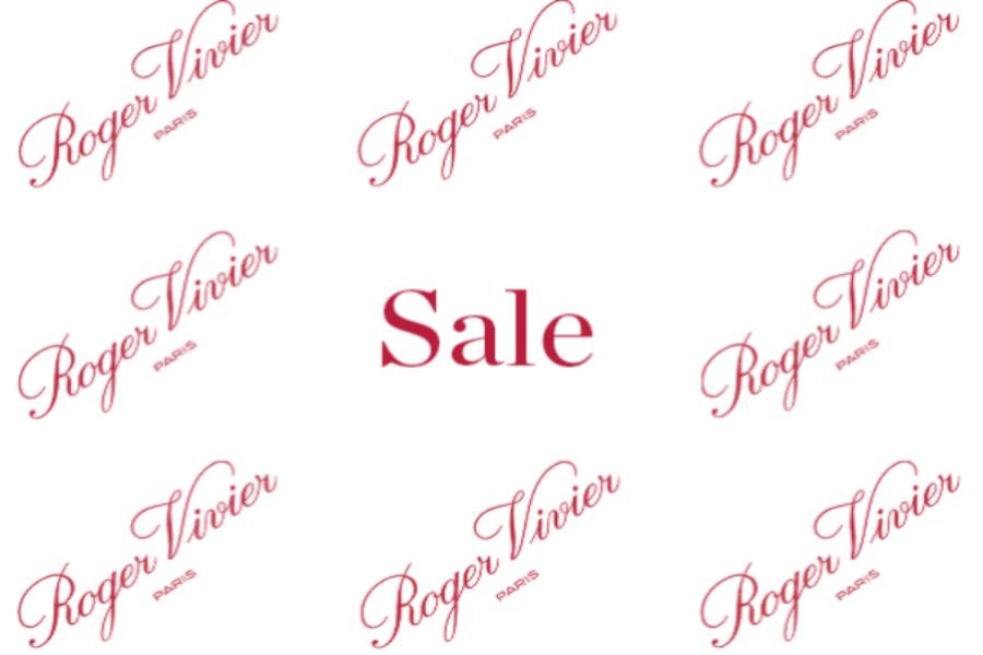 Roger Vivier奢侈品时尚鞋履品牌折扣力度高达40%OFF!