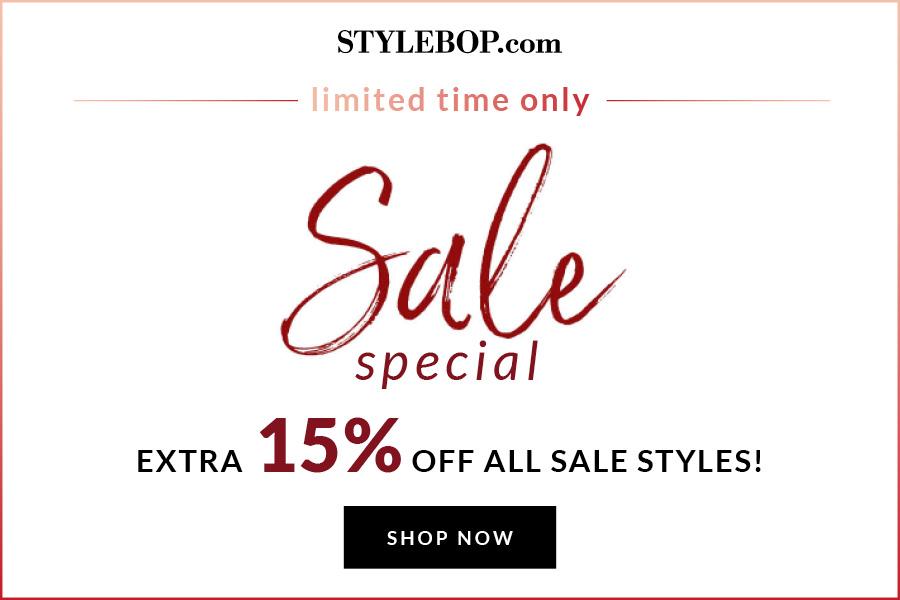 StyleBop | 超多大牌高达80%OFF+额外15%OFF!来捡漏吧!