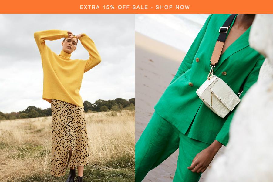 Whistles | 英国轻奢品牌季中5折起+额外15%OFF,备春装的好时机!