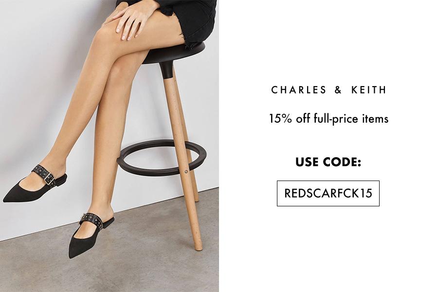 Charles & Keith | 小CK复活节独家折扣15%OFF,高贵不昂贵的美包美鞋来收!