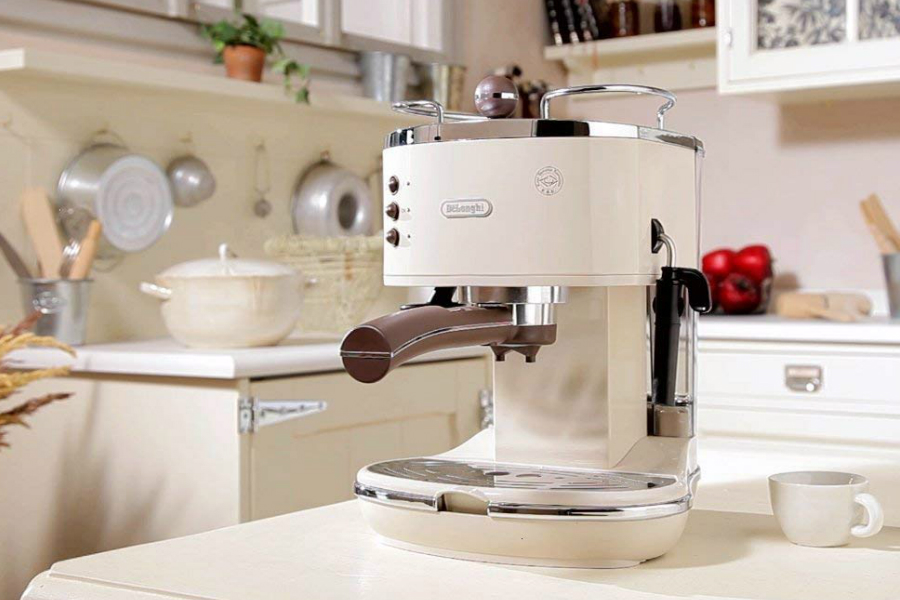Amazon亚马逊 | 意大利德龙Icona复古咖啡机47%OFF!
