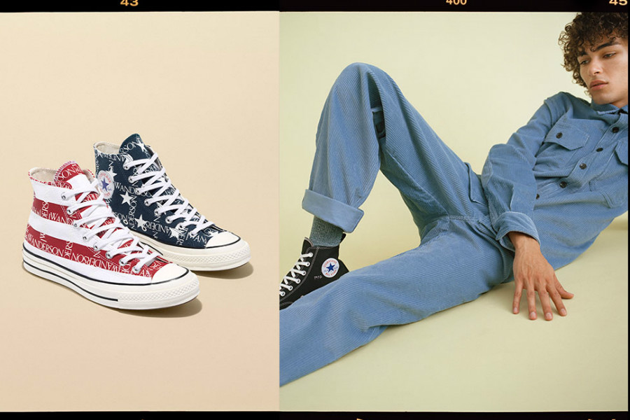 Converse | 匡威 X JW Anderson 合作款上线,时髦人来入!