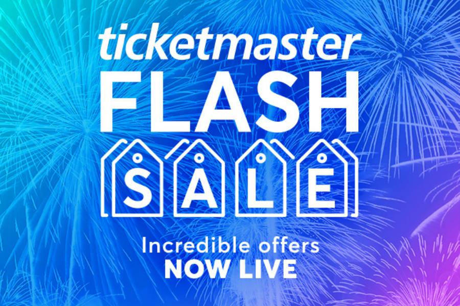 Ticketmaster | 罕见闪销折扣开启!各种戏剧、演出、家庭活动门票优惠低至5折!