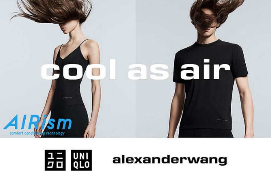 UNIQLO X Alexander Wang | 合作款上线,极致舒爽夏日必备款!