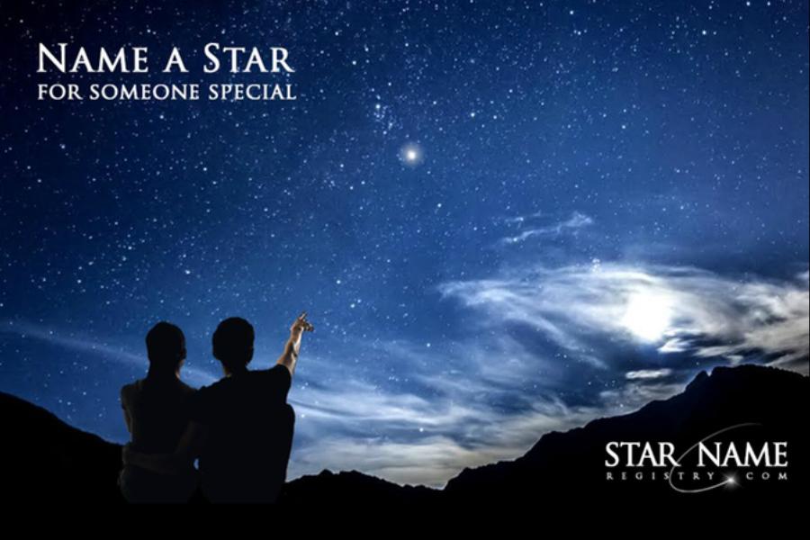 买下天上的行星命名送给TA,520浪漫价只要12.99镑!