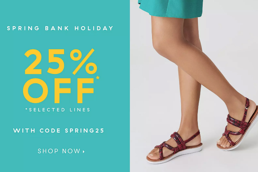 FitFlop | 火遍欧美的行动塑身鞋精选款25%OFF!买几双孝敬爸妈最合适了!