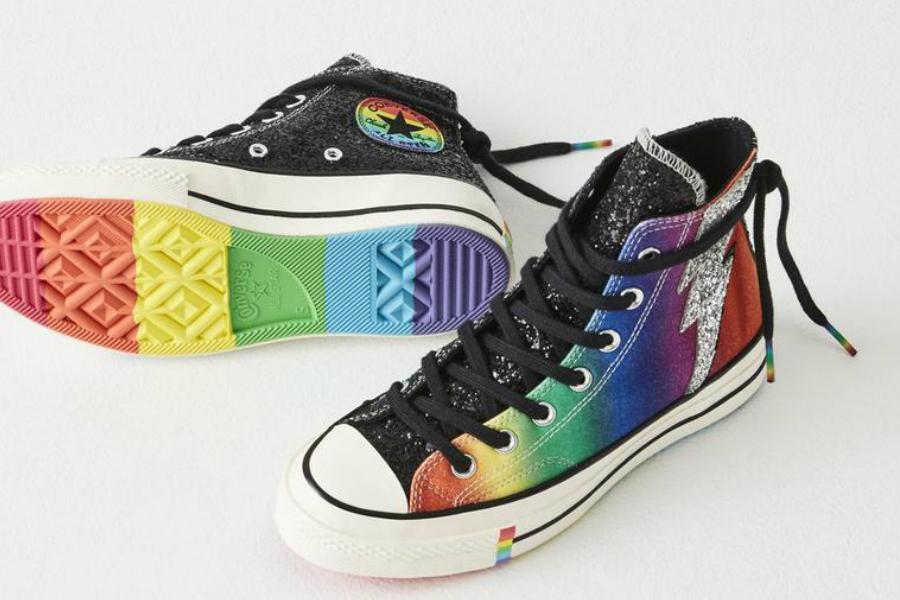 Converse匡威 | PRIDE限量系列上线,缤纷的彩虹鞋好好看!