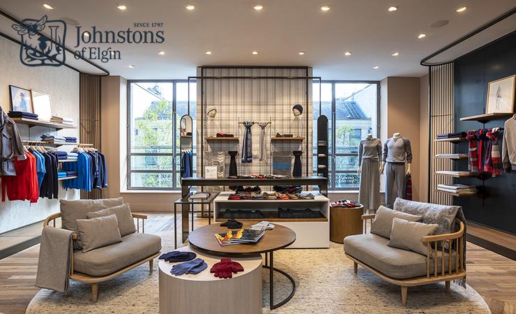 苏格兰羊绒品牌Johnstons of Elgin在爱丁堡开新店啦!来收春夏新品