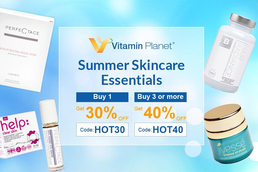 Vitamin Planet | 夏日基础护肤产品高达40%OFF折扣!