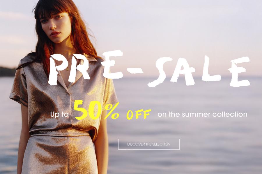 Maje | 夏季折扣高达50%OFF,法式浪漫的美衣趁现在收超划算!