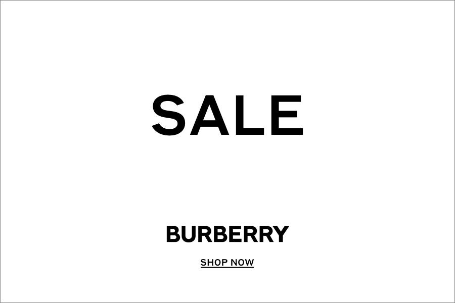 Burberry | Summer Sale正式开始啦!速来入英国国民大牌!