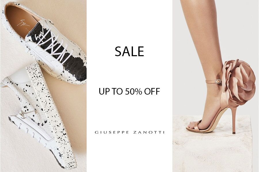 Giuseppe Zanotti   意大利高档鞋履折扣高达50%OFF!