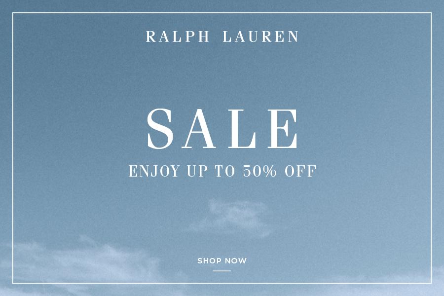 Ralph Lauren | 夏季折扣高达50%OFF!男女服饰和家居都有折!