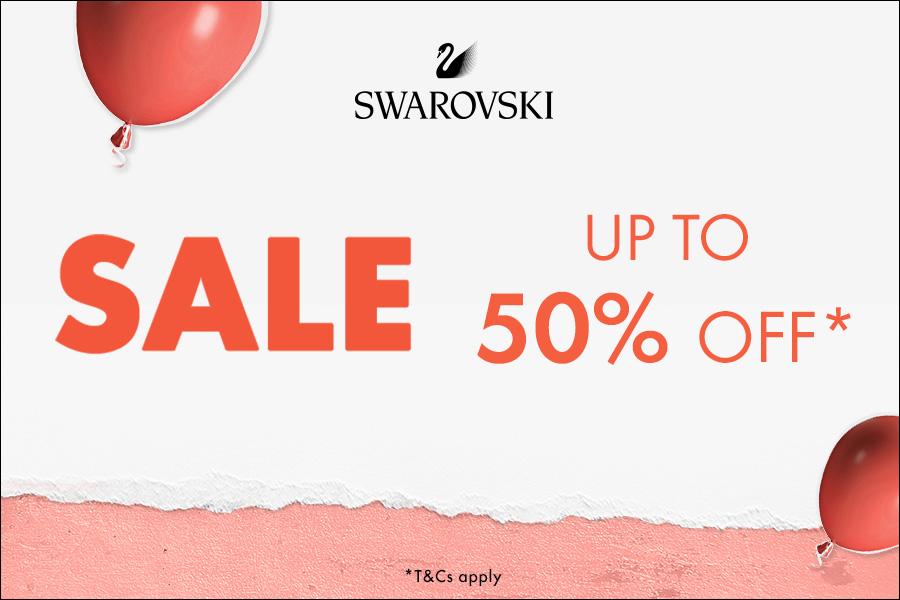 Swarovski施华洛世奇 | 亮晶晶夏季折扣低至5折,网红天鹅首饰省超多!