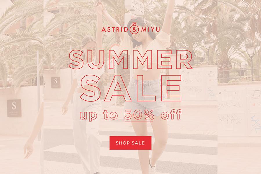 Astrid & Miyu | 简约风项链高达50%OFF!