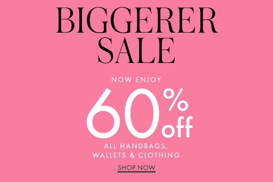 Kate Spade   折扣高达60%OFF,来挑挑时尚俏皮的鞋子和手包吧!