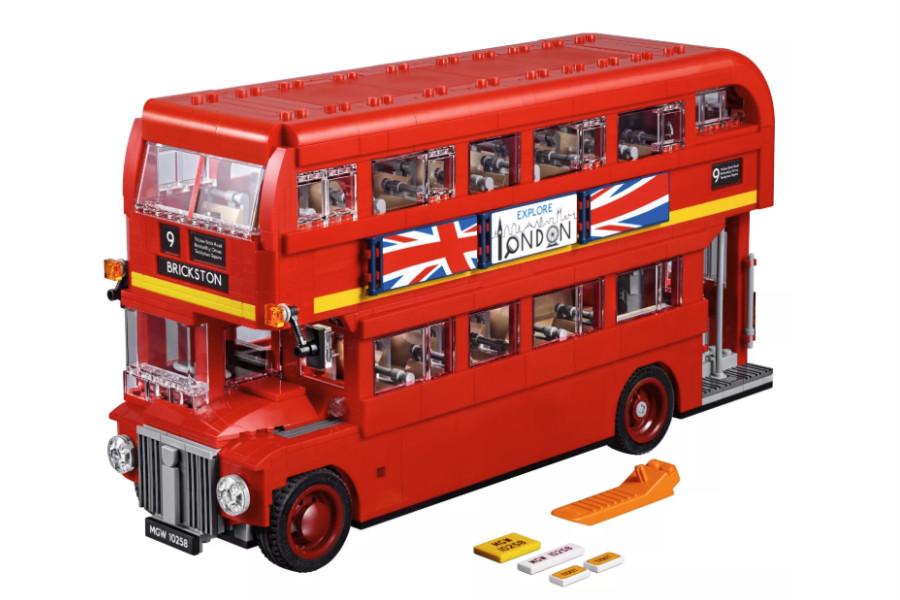 LEGO乐高 | 汽车系列上新,来入伦敦记忆之一小红巴!
