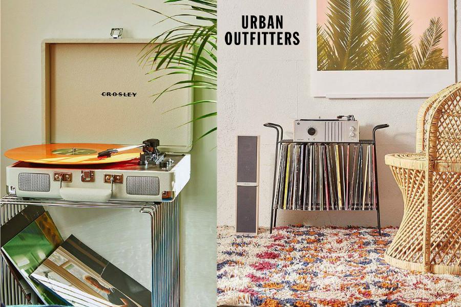 Urban Oufitters | 唱片机新款8折+折扣区低至25折!